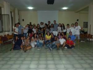 foto di gruppo Adolescenti CVS a Valleluogo